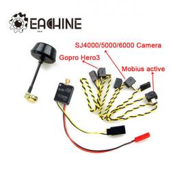 Eachine 5.8G 600mW 32CH AV Wireless Transmitter for Gopro Mobius 808