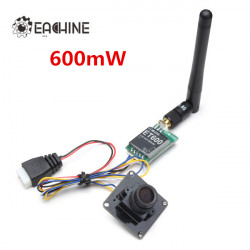 Eachine 700tvl 600mW 1/3 Cmos FPV 110/148 Degree Camera w/32CH Transmission