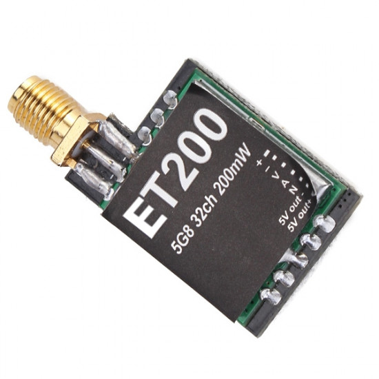 Eachine 700tvl ET200  5.8G 32CH 200mW Mini Transmitter 2021