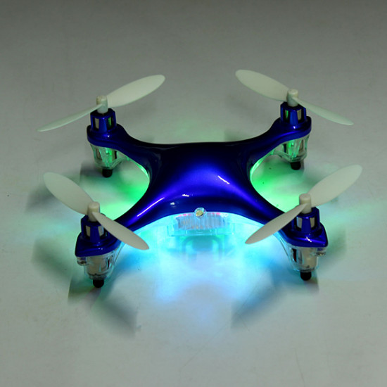 Eachine CG022 Mini 2.4G 6 Axis LED Headless Mode RC Quadcopter RTF 2021