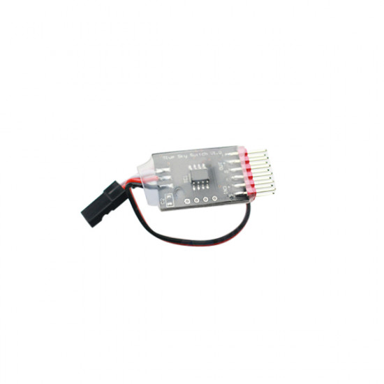 FPV Camera 3CH 3 Way Video Switcher Module w/ Receiver Plug Cable 2021