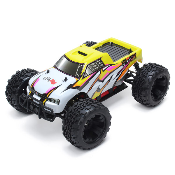 FS Racing 53810 4WD 1:10 2.4GH Electrical Brush Monster Truck RC Toys & Hobbies