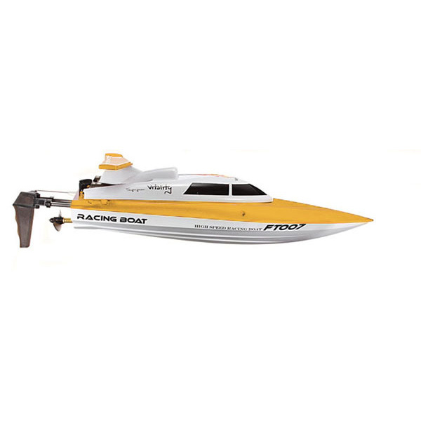 FT007 4CH 2.4G Yellow High Speed Racing RC Boat RC Toys & Hobbies