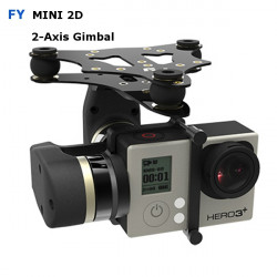 FY MiNi2D 2-Axis Brushless Gimbal For Gopro4 Gopro3+ Gopro3 Sport Camera