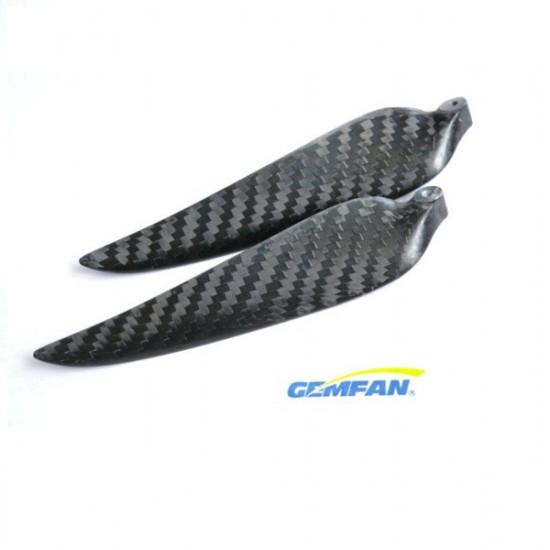 GAMFAN 1180 11×8 Inch CF Carbon Fiber Folding Propeller For RC Airplane 2021