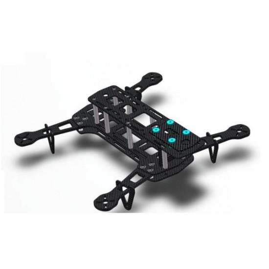 GE260 Carbon Fiber FPV Mini Quadcopter Frame Kit CC3D Compatible 2021