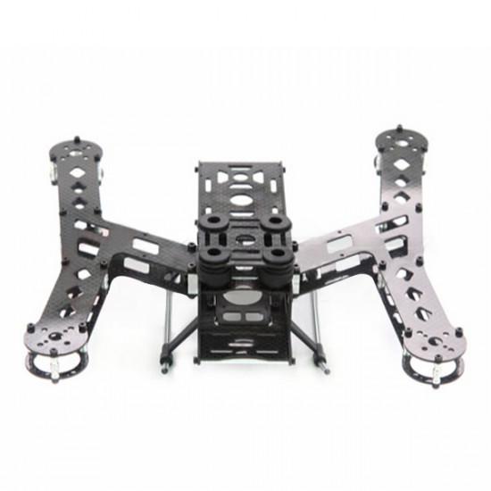 Gartt Pluto X2.5 210mm 4-Axis Carbon Fiber FPV Quadcopter Frame Kit 2021