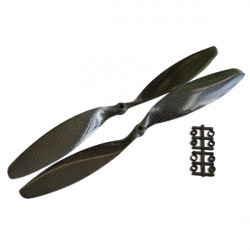 Gemfan 12x3.8 Inch 1238 Carbon Fiber Propeller APC For DJI Multicopter