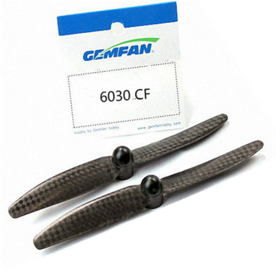 Gemfan 6x3 6030 Carbon Fiber Multirotor Self-Lock Propellers CW/CCW 2021