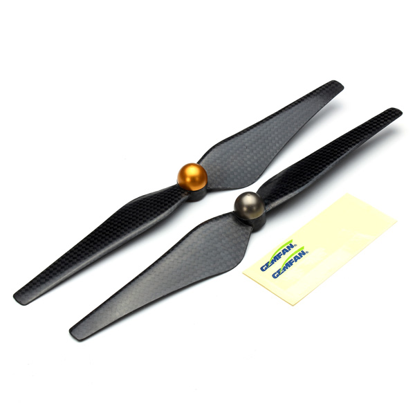 Gemfan 9443 For Walkera Scout X4 H500 Carbon Fiber Self-Lock Propellers RC Toys & Hobbies