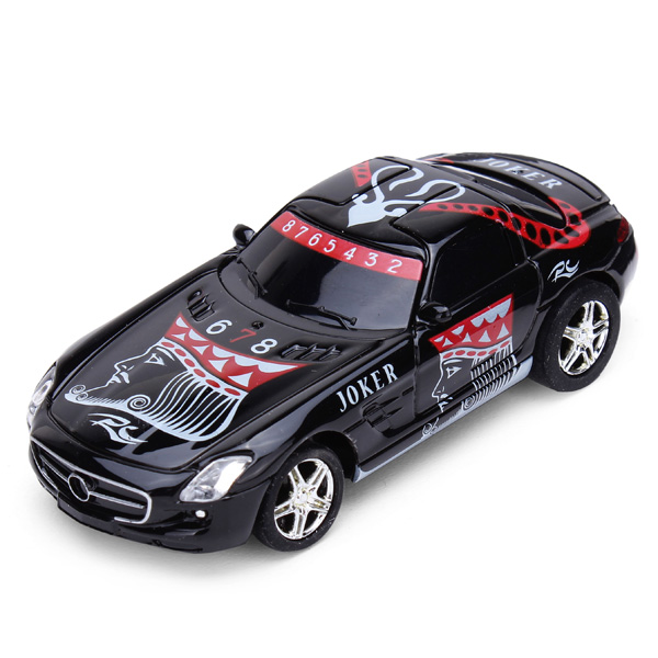 Great Wall 2.4G 1/67 Mini Poker King Electrical Toy Car RC Toys & Hobbies
