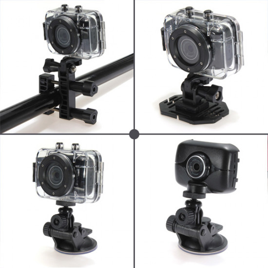 HD 720P Helmet Sport Action Digital Video Waterproof Camera Camcorder 2021