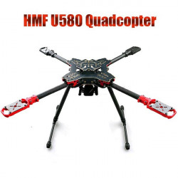 HMF U580 4 Axis Folding Frame With Landing Gear & Gimbal Suspended Bar