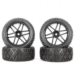 HOBBY MASTER 1/10 Tires For RC Car HC12063