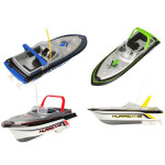 Happy Cow 777-218 Remote Control Mini RC Racing Boat Model RC Toys & Hobbies
