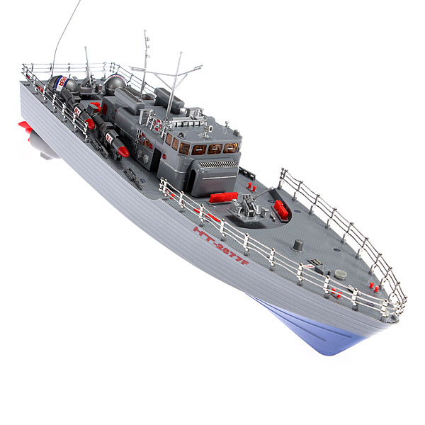 Hengtai HT-2877A 4CH Infrared RC War Battle Ship With Gyro RC Toys & Hobbies