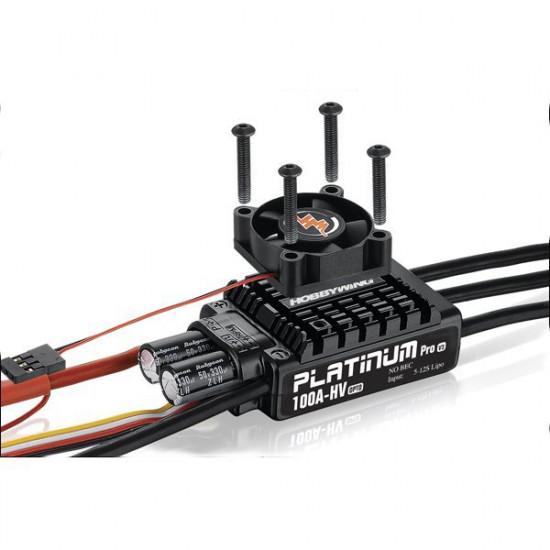 HobbyWing Platinum-100A-HV-V3 Brushless ESC For RC Models 2021