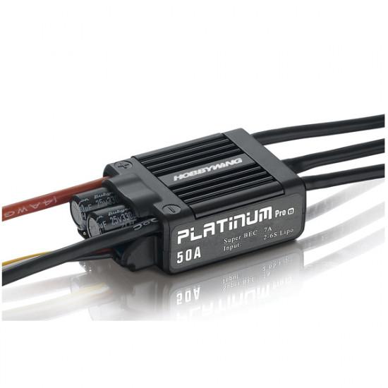 Hobbywing Platinum 50A V3 Esc Electronic Speed Controller 2021