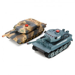 Huanqi Electrical Infrared RC Battle Tank 2Pcs Set
