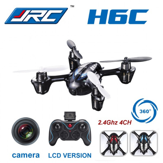 JJRC H6C New Version 2.4G 4CH Headless Mode Quadcopter with Camera 2021