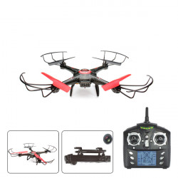 JJRC V686J 2.4G 4CH 6Axis RC Quadcopter with 720P 2.0MP HD Camera RTF