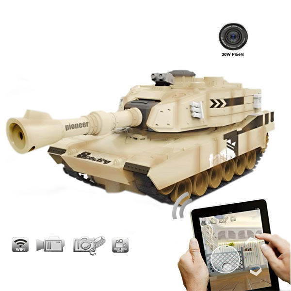 Jinxingda JXD JD805 WIFI RC Tank With Camera Real-time Video RC Toys & Hobbies