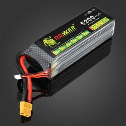 Lion Power 14.8V 5200MAH 30C MAX 45C Lipo Battery XT60 Plug