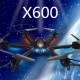 MJX X600 X-SERIES 2.4G 6-Axis Headless Mode RC Hexacopter RTF 2021