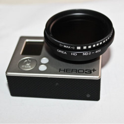 OREA HD ND2-400 Filter with Adapter Ring for Gopro Hero 3 3+