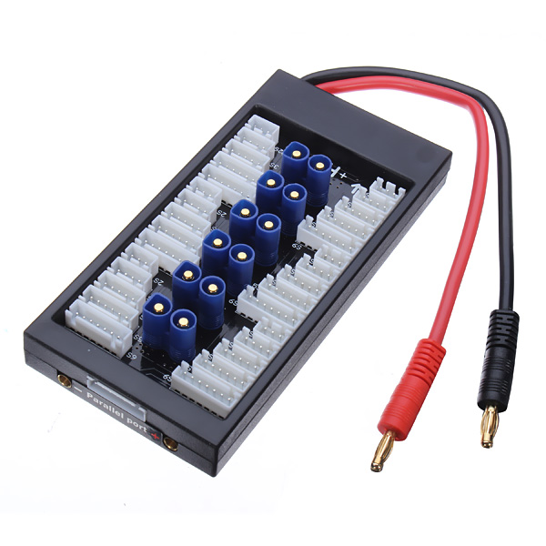 Paraboard V2 Parallel Charging Board for Lipos with EC3 Connector RC Toys & Hobbies