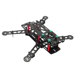 QAV310 Carbon / Glass Fiber Mini FPV Quadcopter Frame Kit