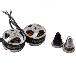 Rctimer 2206-2000KV Mini Brushless Motor CW/CCW for Multicopters