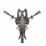 Reptile Mosquito Y4 Y400 400mm 3-Axis Carbon Fiber Tricopter Frame Kit RC Toys & Hobbies
