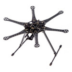 S550 Hexcopter Frame Kit With Integrated PCB 550mm Black RC Toys & Hobbies