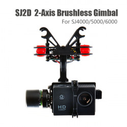 SJ2D 2-AXIS FPV Brushless Gimbal For SJ4000/SJ5000/SJ6000