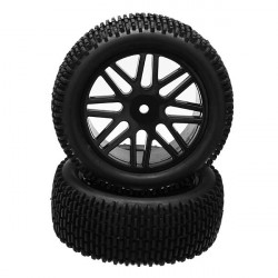 SST 66009 Front Tyre 2Pcs For 1/10 Off-road Buggy