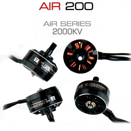 T-Motor AIR Gear 200 Series 2205 2000KV Brushless Motor T6535 Propeller AIR 10A ESC Combo 2021