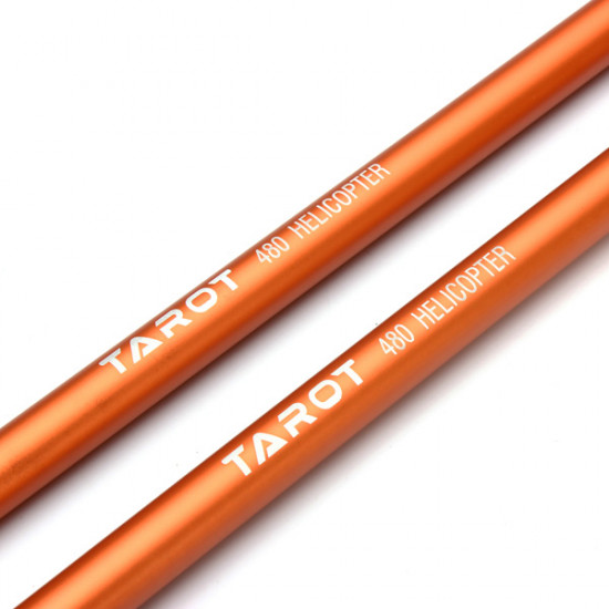 Tarot 480 RC Helicopter Parts Tail Boom Orange TL48002-02 2021
