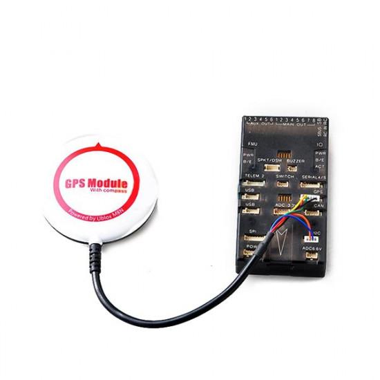 Ublox NEO-M8N GPS Module For PIX4 APM2.6/2.8 Mini APM Built-in Compass 2021