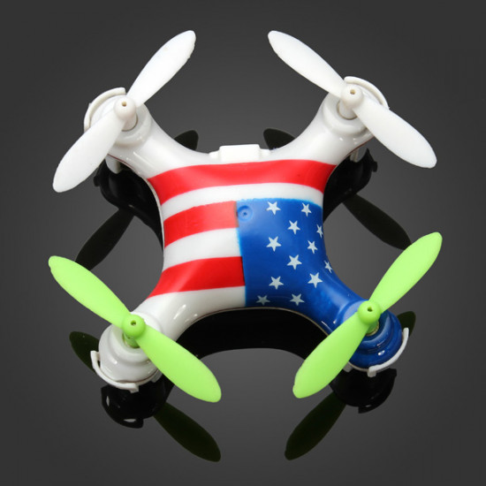 WLtoys V676 2.4G Super Mini UFO Headless Mode Quadcopter RTF 2021
