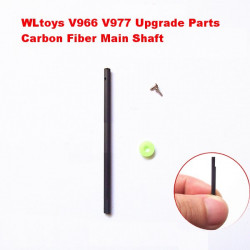 WLtoys V966 V977 Upgrade Parts 2.5mm Carbon Fiber Main Shaft