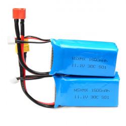 WSX WSX-S01 11.1V 30C 1500mAh Battery For QAV250 Frame Kit