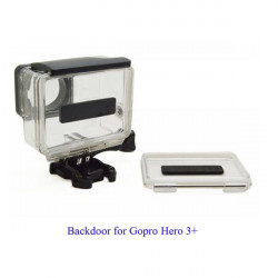 Waterproof Backdoor Case Cover For GoPro Hero 3+