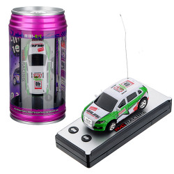 Wltoys 2015-1A 1:63 Coke Can Mini RC Radio Racing Car Random