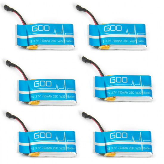 X6A 750mAh Battery With Charger For Syma X5C Cheerson CX-30 JJRC H5C H9D 2021
