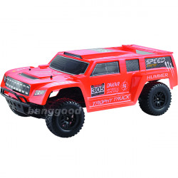 XK K939 1/10 4WD 2.4G Electric RC Hummer Car