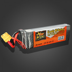 ZOP Power 11.1V 4000MAH 30C Lipo Battery XT60 Plug