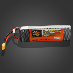 ZOP Power 11.1V 5000mAh 30C Lipo Battery XT60 Plug