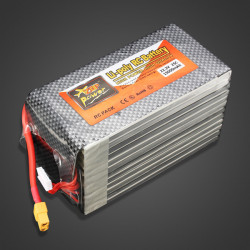 ZOP Power 22.2V 15000MAH 25C Lipo Battery XT60 Plug