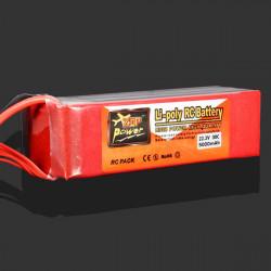 ZOP Power 22.2V 5000MAH 30C Lipo Battery XT60 Plug